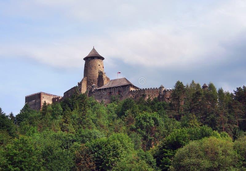 Het kasteel van Lubovna, Slowakije royalty-vrije stock afbeelding