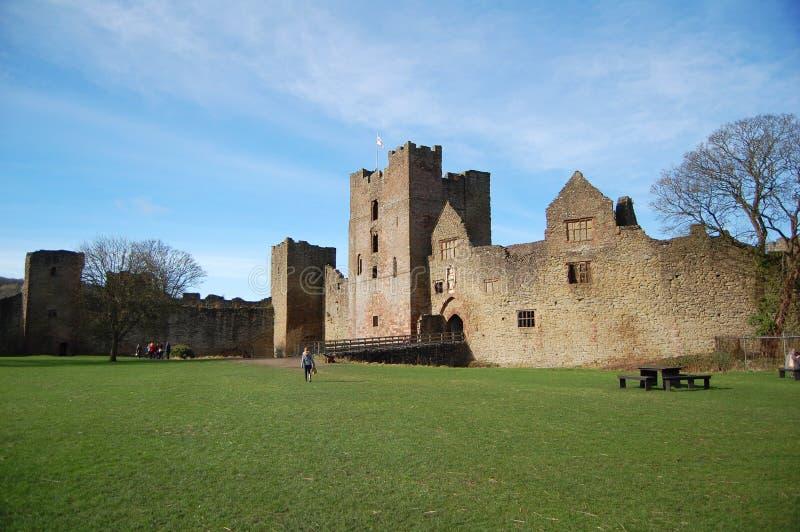 Het kasteel van Ludlow royalty-vrije stock foto