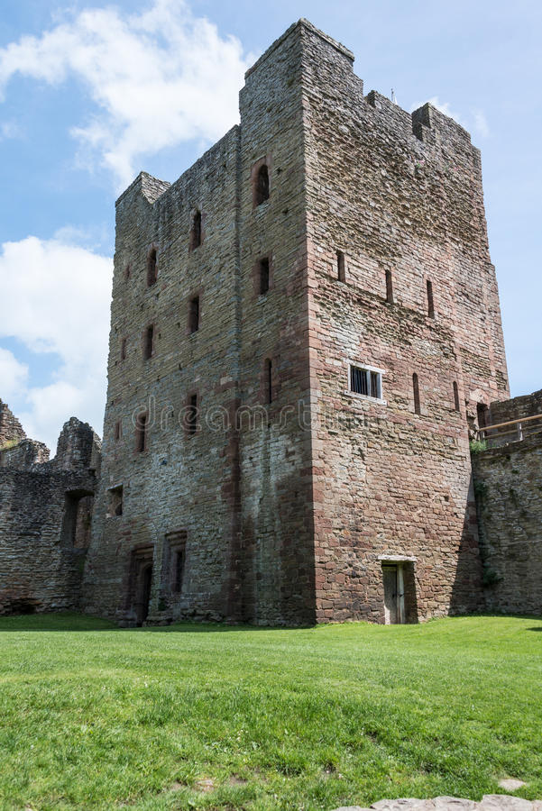 Het kasteel van Ludlow royalty-vrije stock fotografie