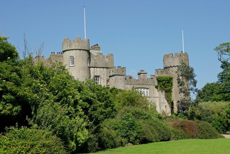 Het kasteel van Malahide, Ierland stock foto's