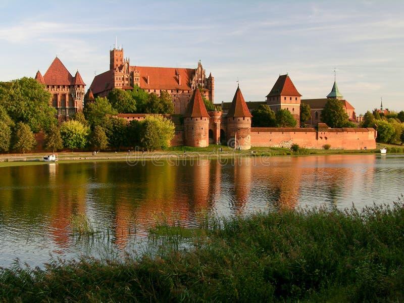 Het kasteel van Malbork royalty-vrije stock fotografie