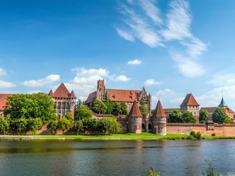 Het Kasteel van Malbork royalty-vrije stock foto's
