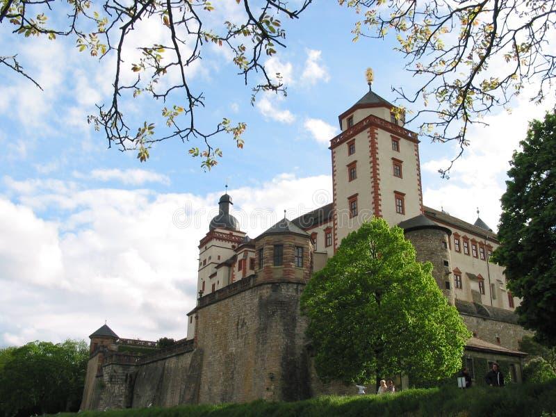 Het kasteel van Marienberg, Wurzburg, Duitsland royalty-vrije stock fotografie