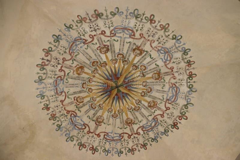 Het Kasteel van Masino in Italië royalty-vrije stock afbeelding
