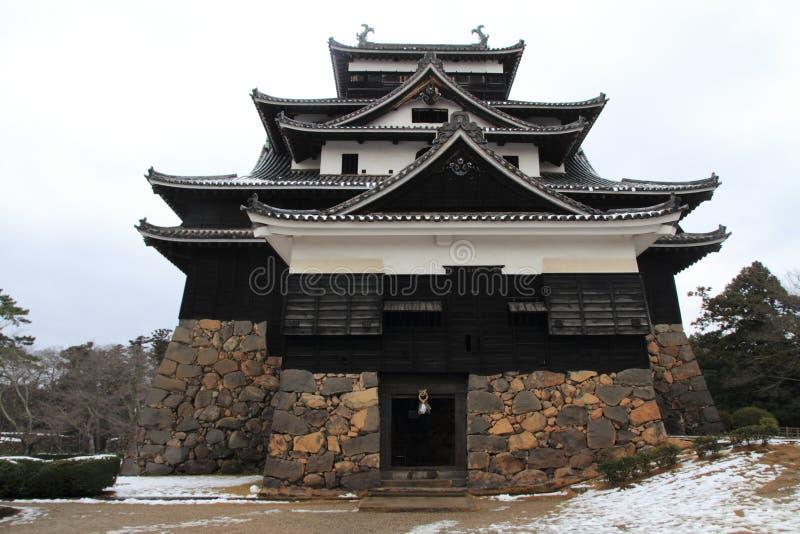 Het kasteel van Matsue stock afbeelding