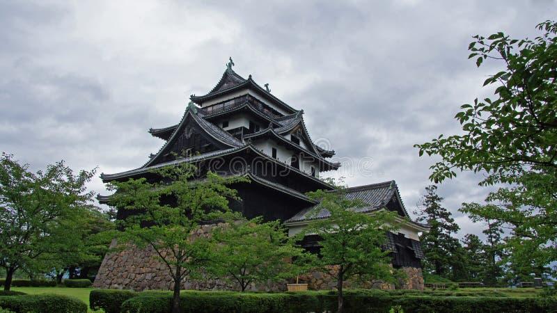 Het kasteel van Matsue royalty-vrije stock foto