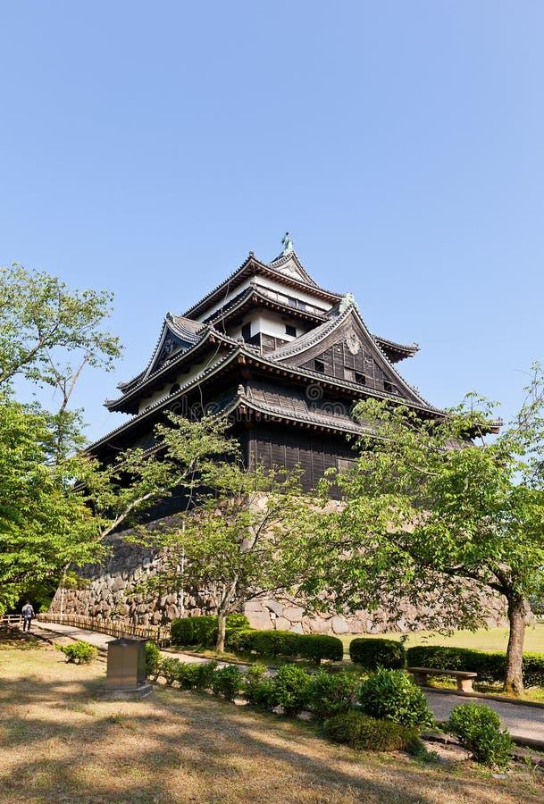 Het kasteel van Matsue (1611) in Matsue, Shimane-prefectuur, Japan royalty-vrije stock foto