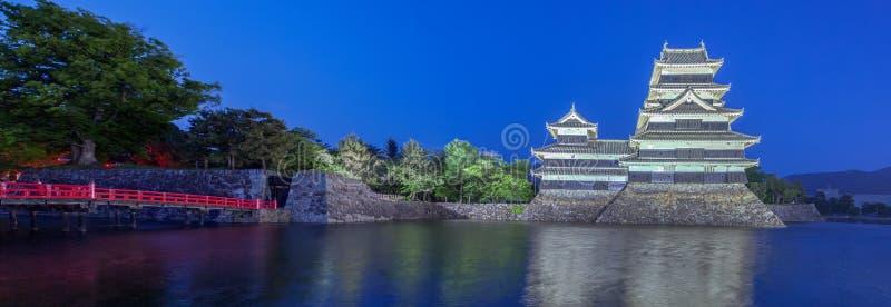 Het kasteel van Matsumoto royalty-vrije stock foto