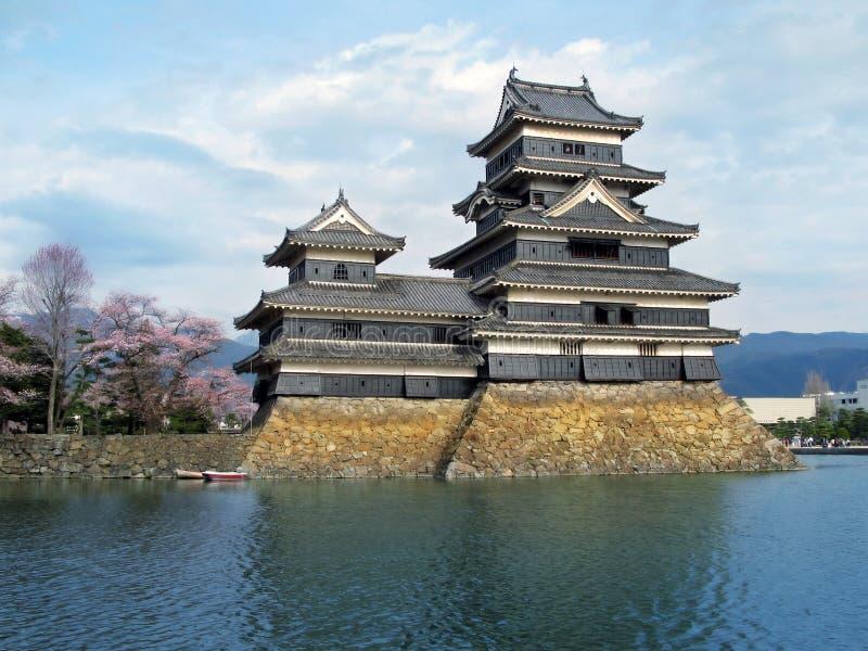 Het Kasteel van Matsumoto, Japan. royalty-vrije stock afbeeldingen