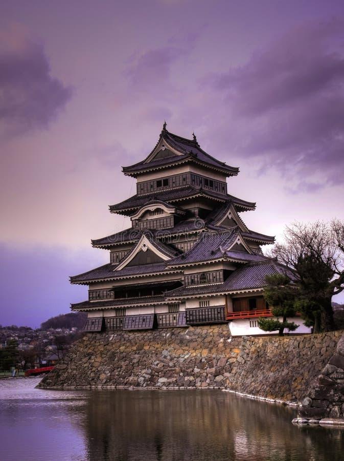 Het Kasteel van Matsumoto, Japan royalty-vrije stock fotografie