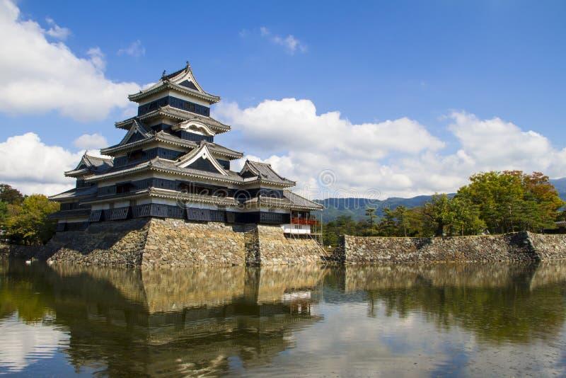 Het Kasteel van Matsumoto Japan royalty-vrije stock foto's