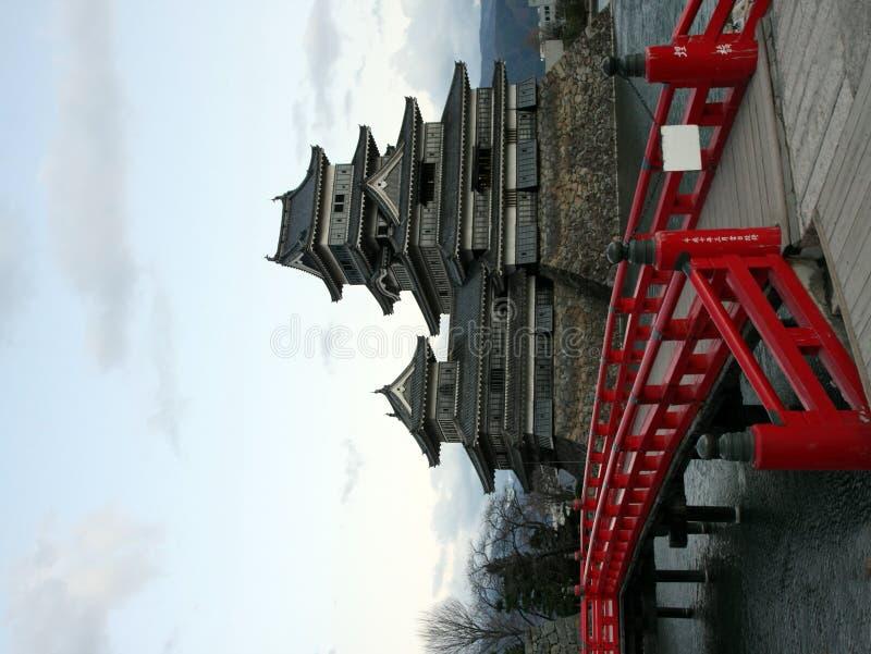 Het Kasteel van Matsumoto, Japan stock fotografie