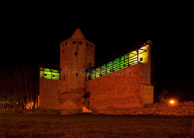 Het Kasteel van Mazowiecka van Rawa royalty-vrije stock afbeelding
