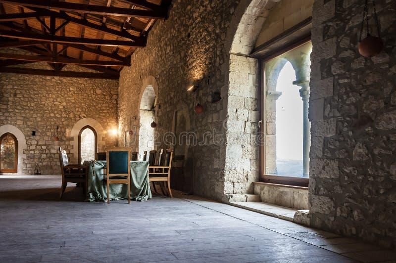 Het kasteel van Mussomeli royalty-vrije stock afbeelding