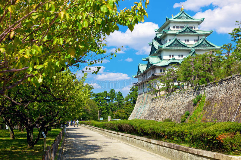 Het Kasteel van Nagoya stock fotografie