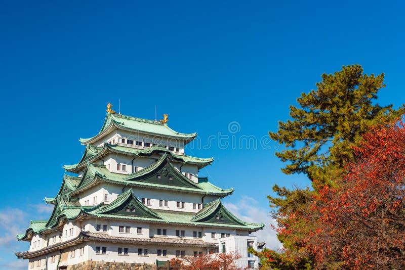 Het Kasteel van Nagoya, Japan stock afbeelding