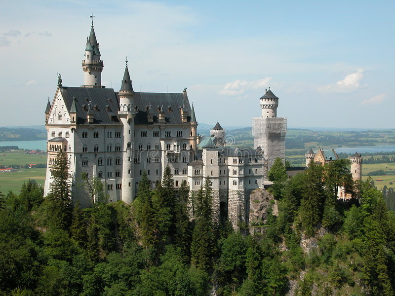 Het Kasteel van Neuscwanstein royalty-vrije stock fotografie
