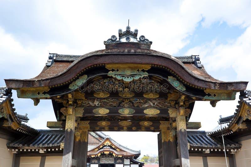 Het Kasteel van Nijo stock fotografie