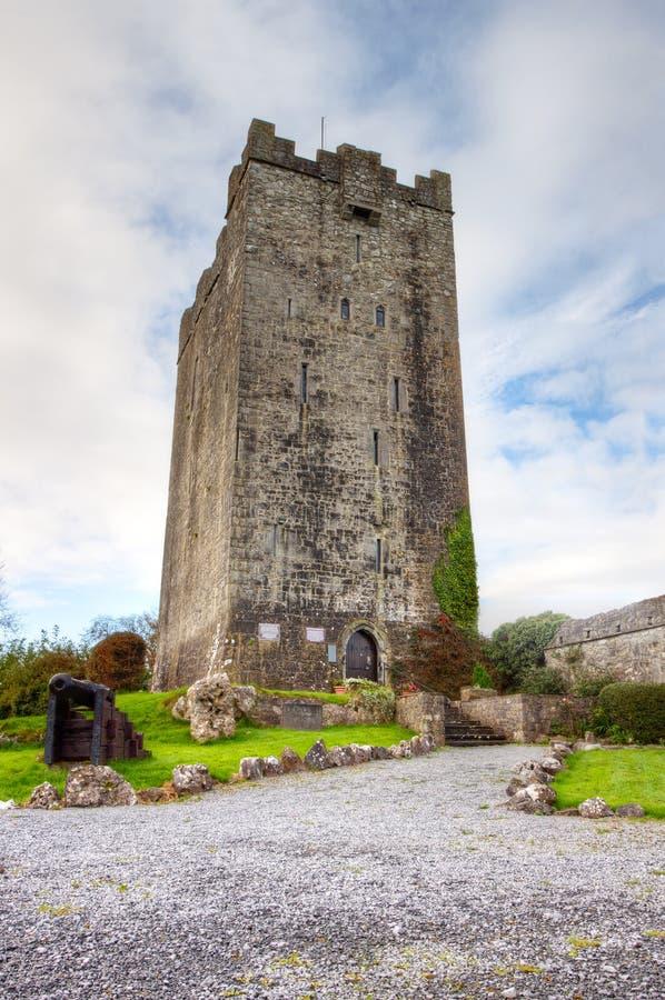 Het Kasteel Van O Dea Van Dysert, Co. Clare - Ierland. Stock Afbeelding