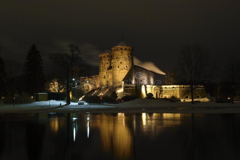 Het Kasteel van Olavinlinna royalty-vrije stock foto's