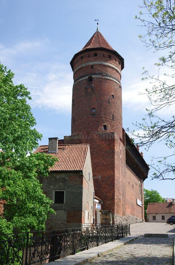Het kasteel van Olsztyn royalty-vrije stock fotografie