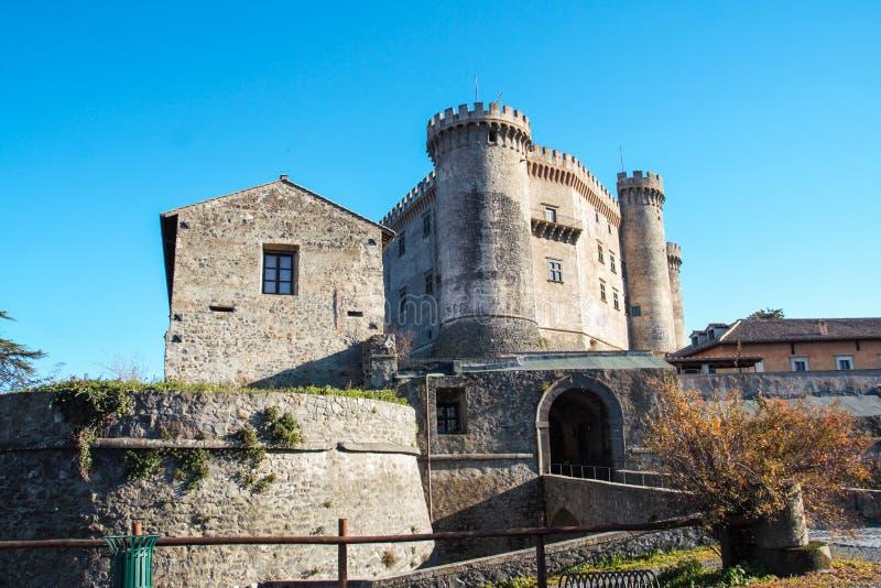 Het kasteel van Orsini-Odescalchi in Bracciano royalty-vrije stock fotografie