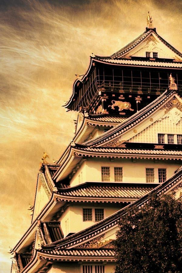Het Kasteel van Osaka stock fotografie