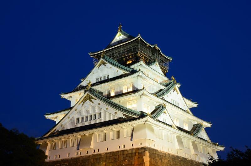 Het Kasteel van Osaka stock afbeeldingen