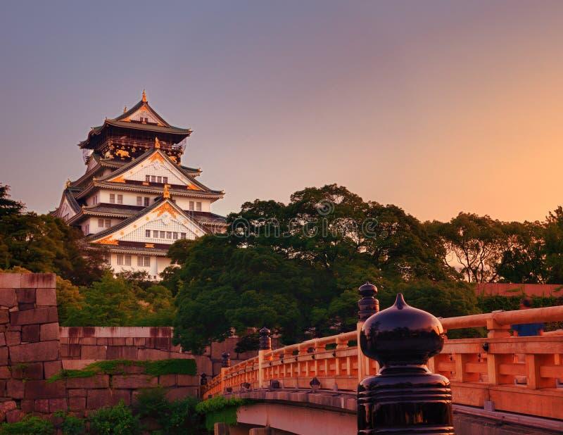 Het Kasteel van Osaka royalty-vrije stock fotografie