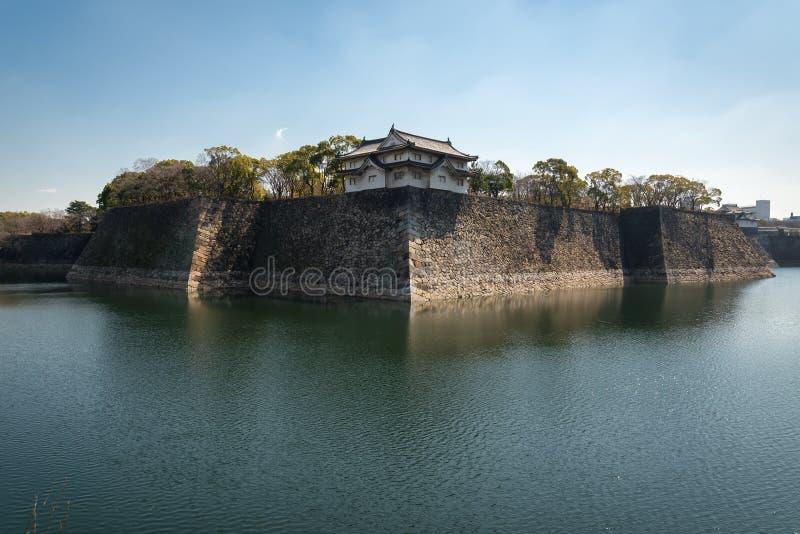Het kasteel van Osaka in Matsumoto, Japan stock afbeeldingen