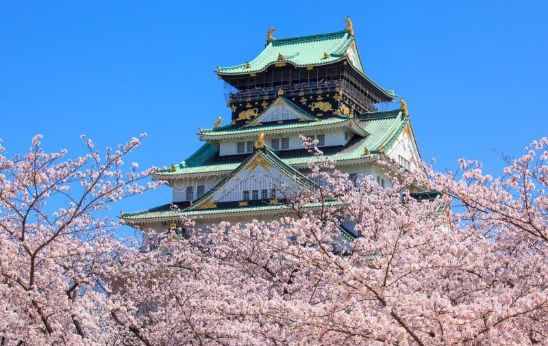 Het kasteel van Osaka, Osaka, Japan royalty-vrije stock fotografie