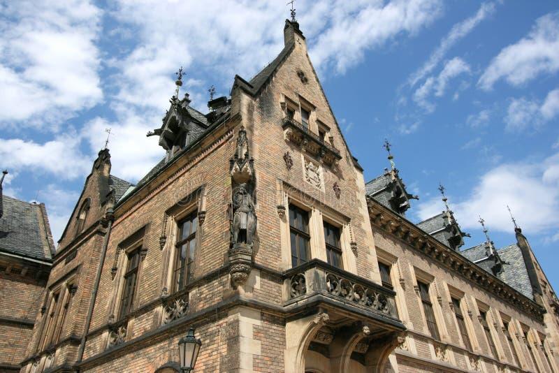 Het kasteel van Praag stock fotografie
