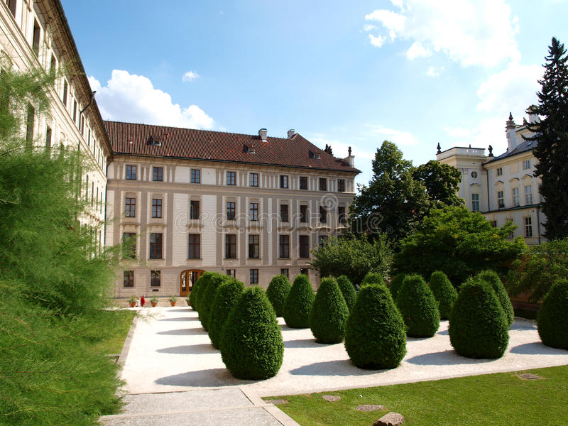 Het kasteel van Praag royalty-vrije stock foto