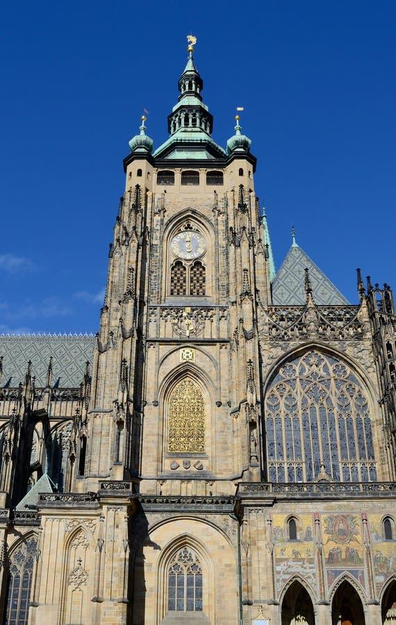 Het kasteel van Praag stock afbeelding