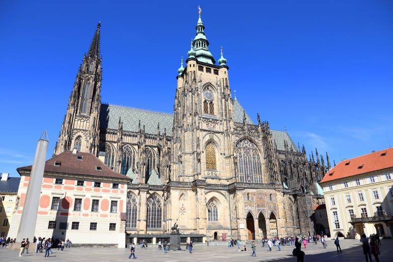 Het Kasteel van Praag royalty-vrije stock afbeeldingen