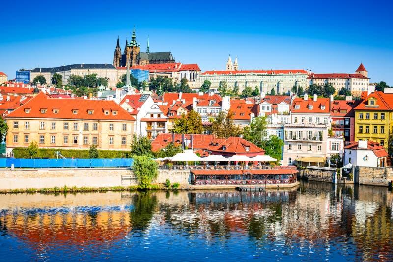 Het Kasteel van Praag, Bohemen, Tsjechische Republiek royalty-vrije stock fotografie