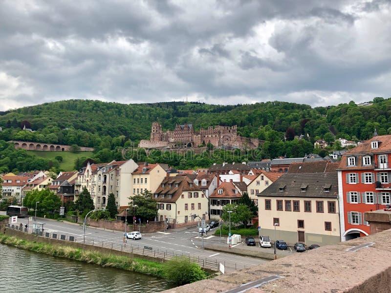 Het kasteel van renaissanceheidelberg in Duitsland royalty-vrije stock afbeeldingen