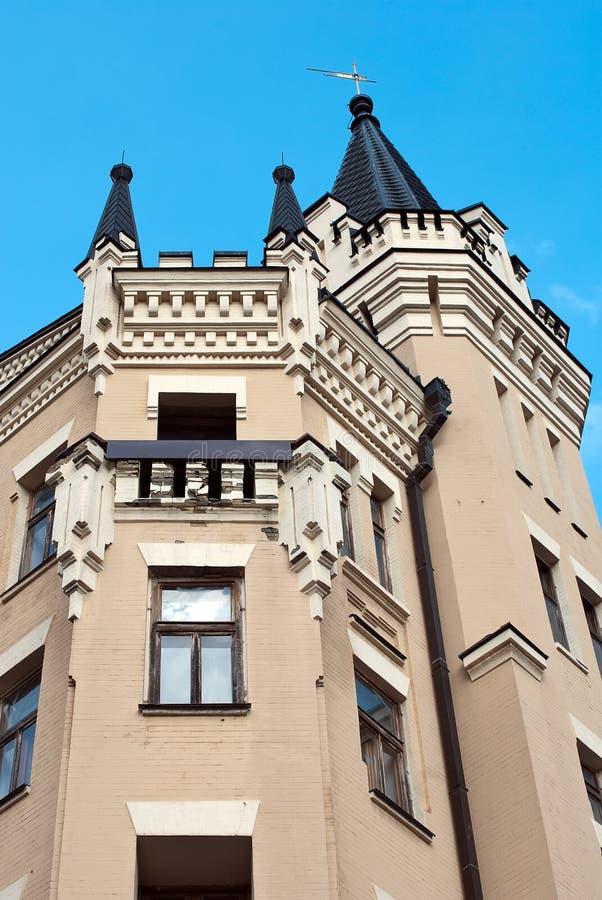 Het kasteel van Richard van de koning in Kiev, Ukr stock fotografie
