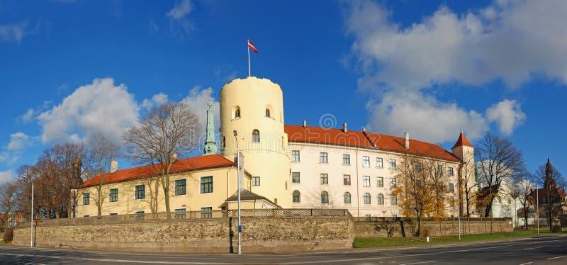 Het Kasteel van Riga. royalty-vrije stock foto's