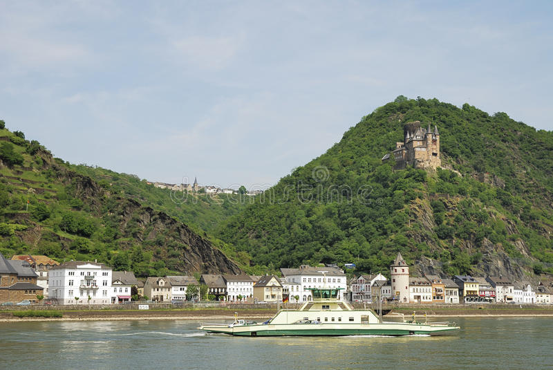Het kasteel van Rijn royalty-vrije stock foto