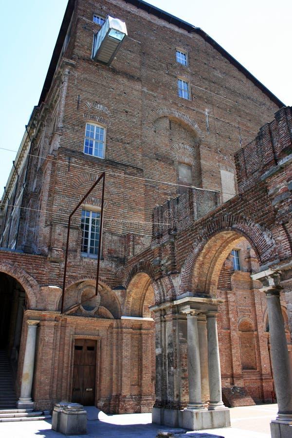 Het kasteel van Rivoli royalty-vrije stock afbeeldingen