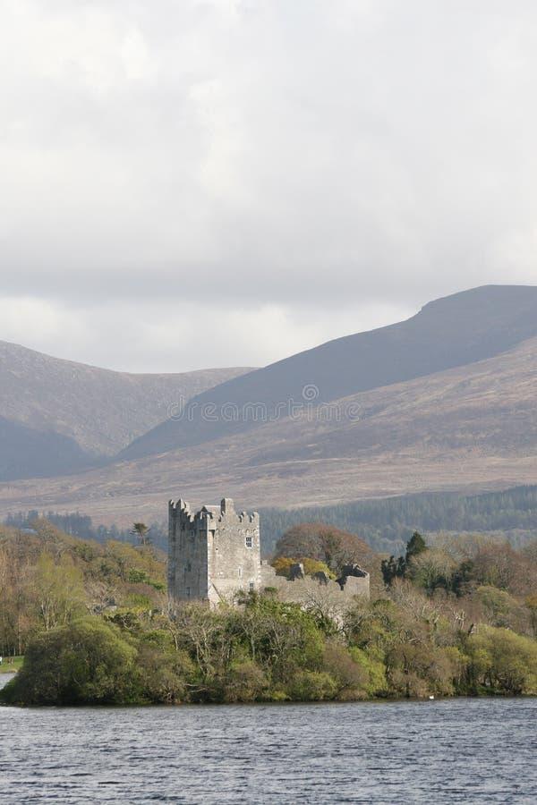 Het kasteel van Ross, killarney, Ierland royalty-vrije stock foto's