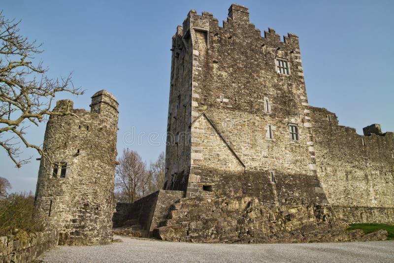 Het kasteel van Ross van Medievial stock foto