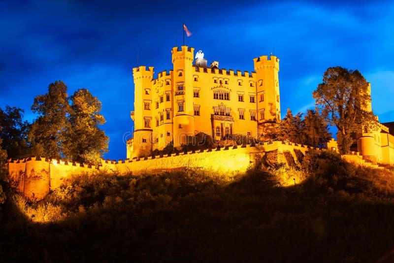Het Kasteel van Schlosshohenschwangau, Duitsland royalty-vrije stock foto