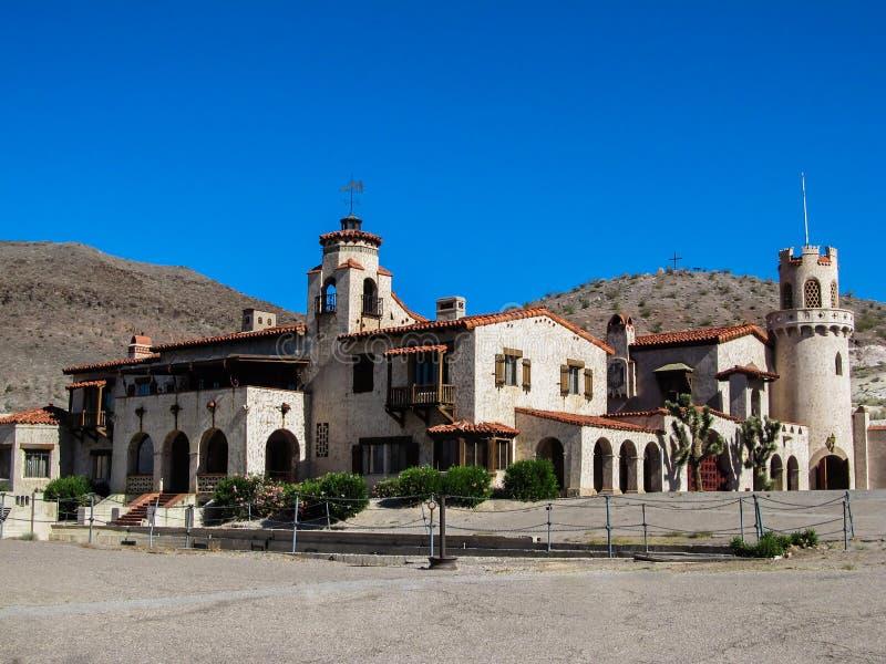 Het Kasteel van Scotty, Doodsvallei, Californië royalty-vrije stock fotografie