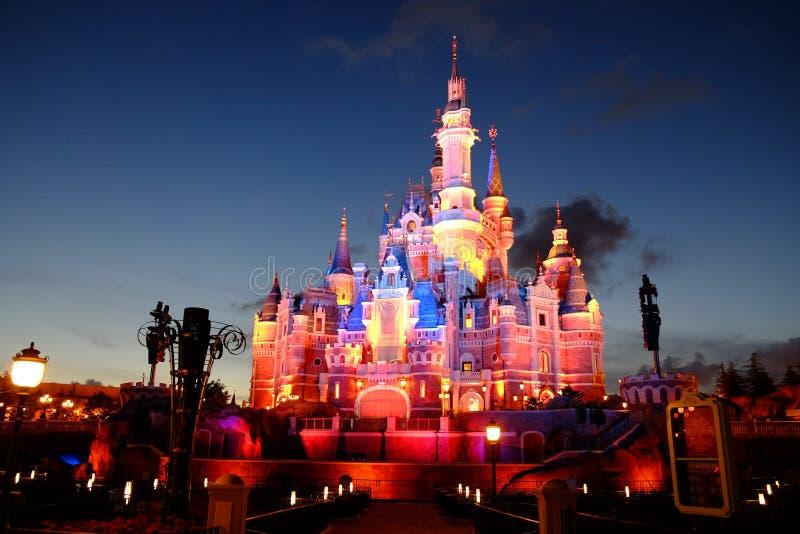 Het Kasteel van Shanghai Disney royalty-vrije stock afbeeldingen