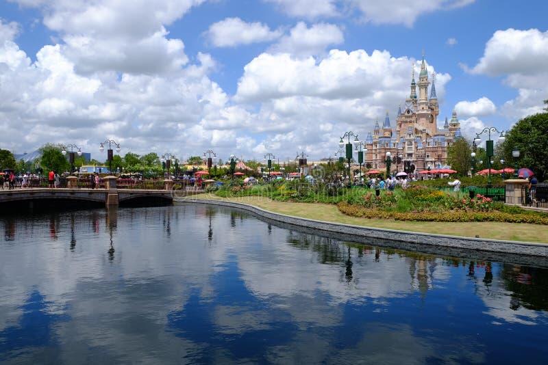 Het Kasteel van Shanghai Disney royalty-vrije stock afbeelding