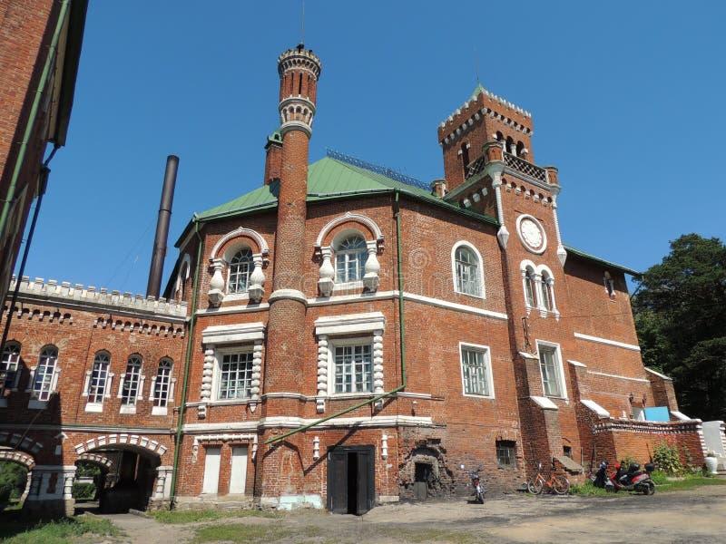 Het kasteel van Sheremetyev royalty-vrije stock afbeeldingen