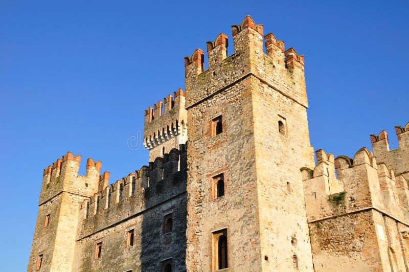 Het kasteel van Sirmione royalty-vrije stock afbeeldingen