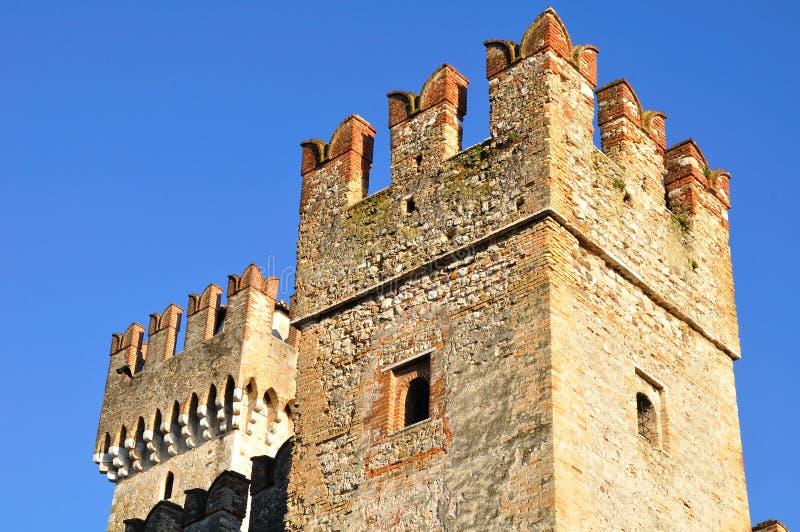 Het kasteel van Sirmione royalty-vrije stock foto's